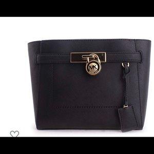 Michael kors leather traveler bag